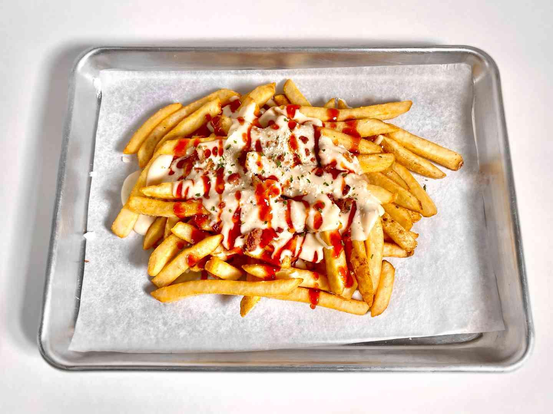 Alfredo Sweet Heat Loaded Fries