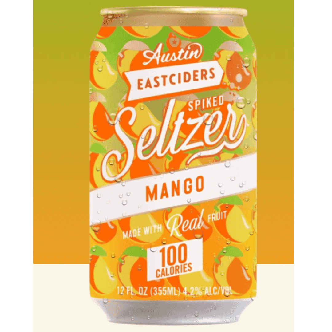 Austin Eastciders - Mango Spiked Seltzer