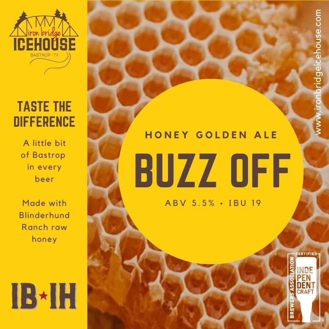 8. Buzz Off Golden Ale 5.5% | 19 IBU