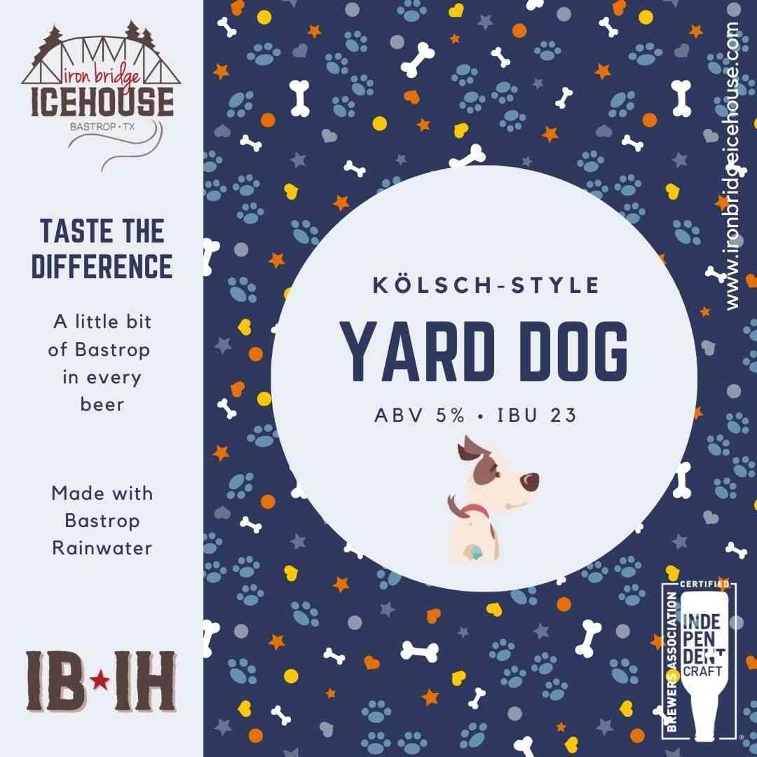 1. Yard Dog Kölsch 5.0% | 23 IBU