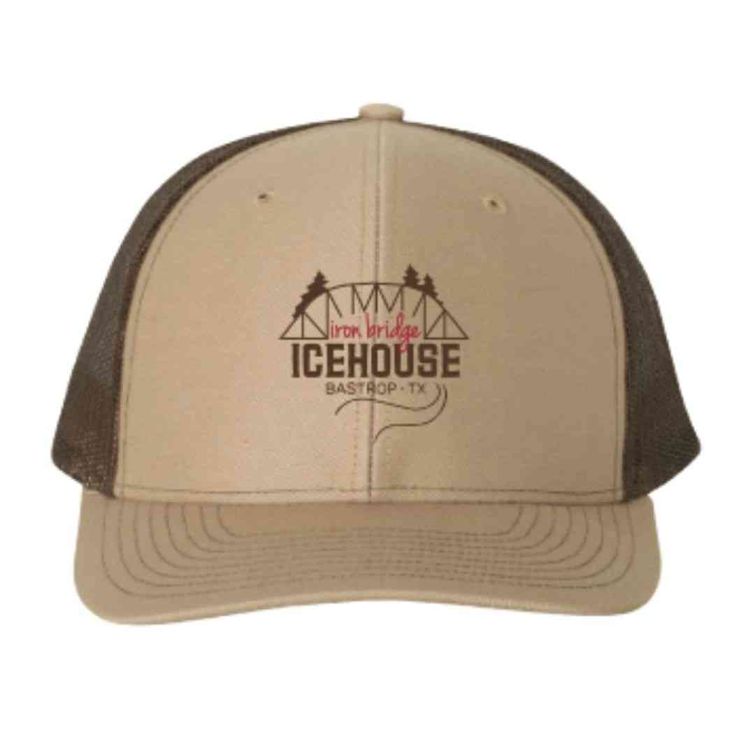 Khaki/Brown IBIH Trucker Hat
