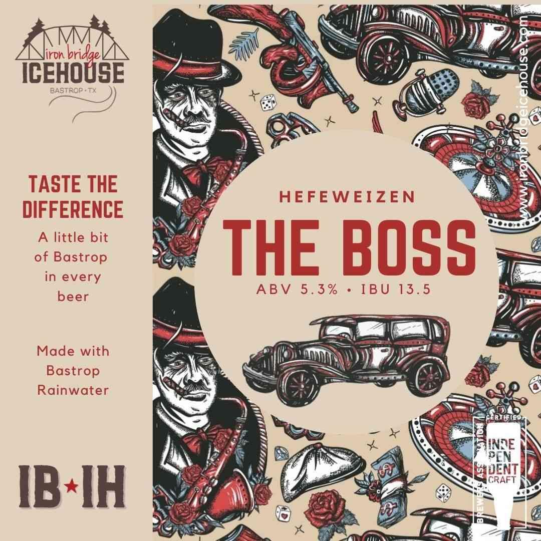 4. The Boss Hefeweizen 5.3% | 13.5 IBU