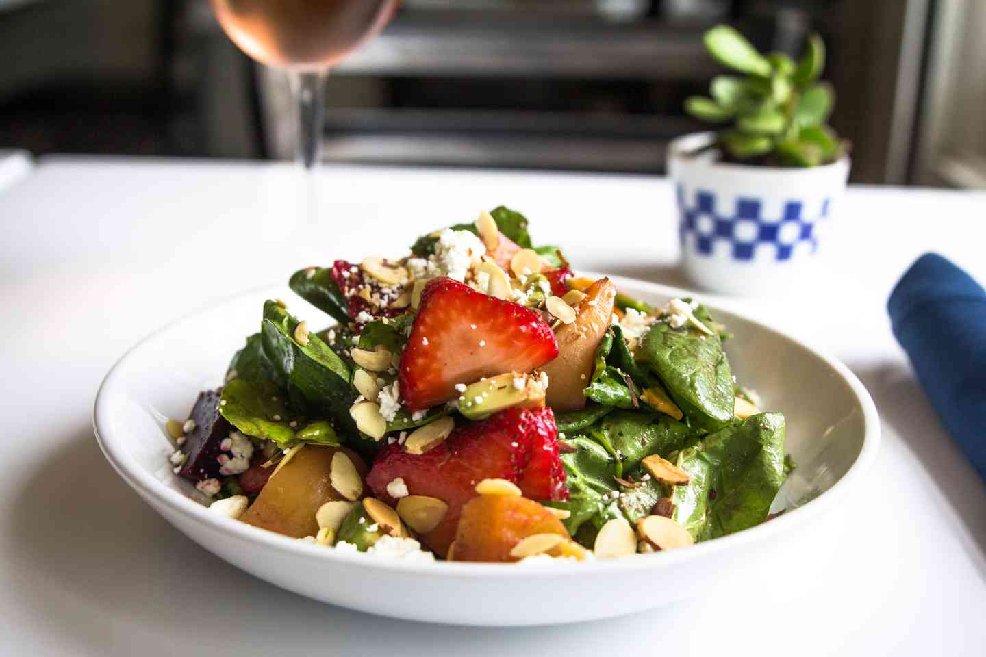 Beets & Goat Cheese Salad