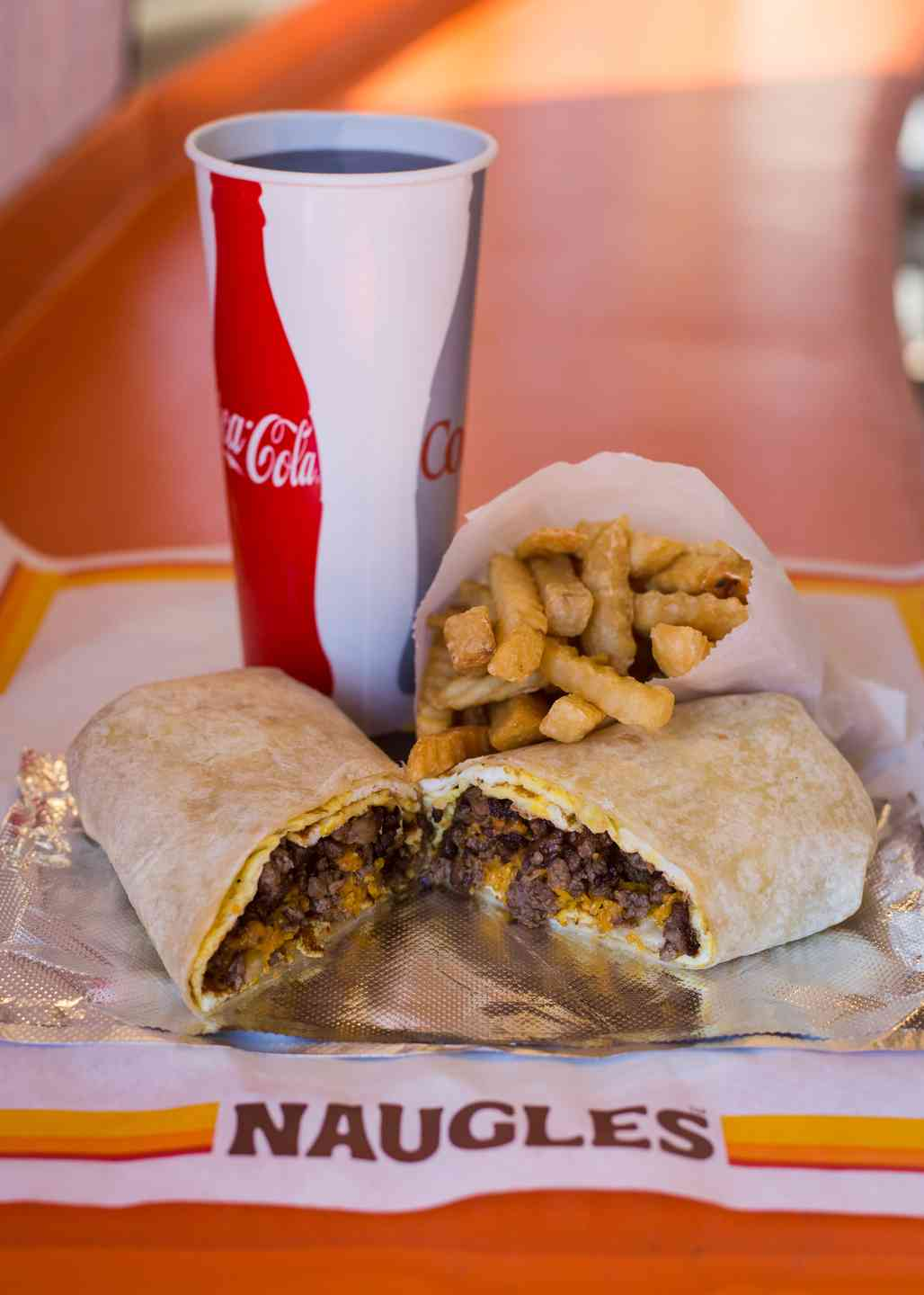 Steak and Egg Burrito