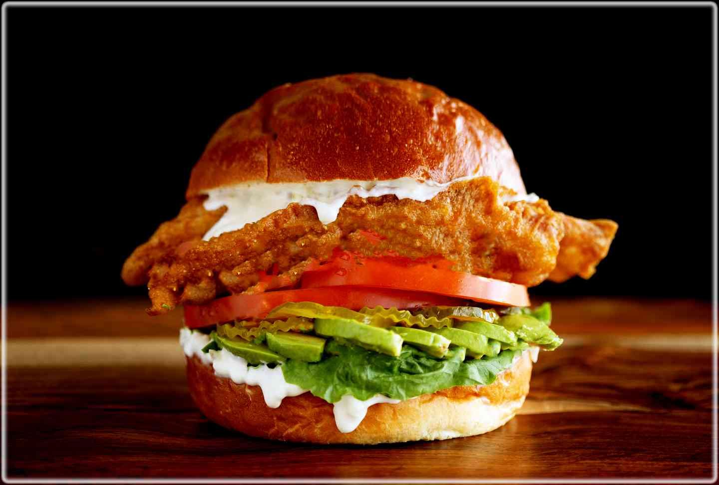 Fish Sandwich London-Style