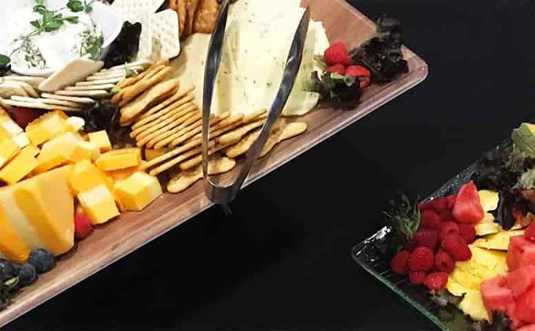 Cheese & Cracker Display