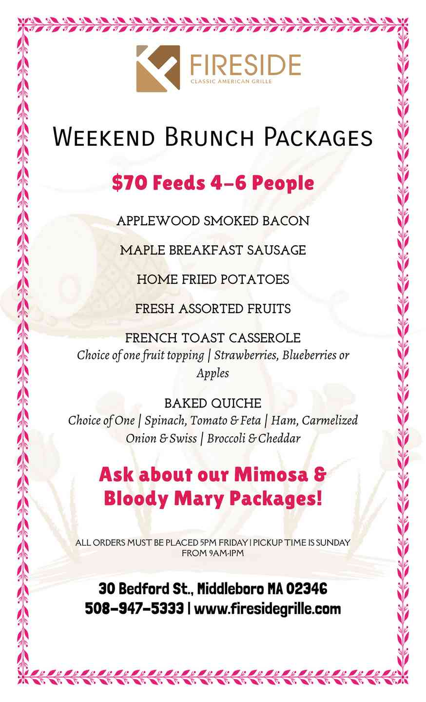 Brunch Packages To-Go