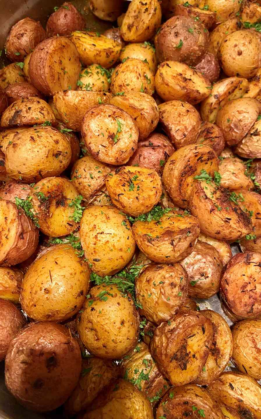 Roasted Red Herb Potatoes