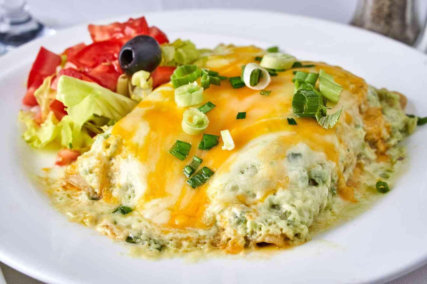 Spinach Enchilada