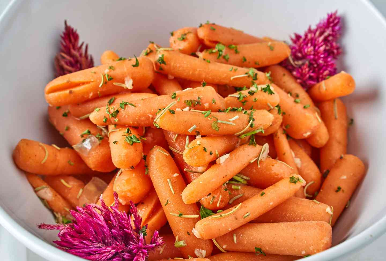 Rosemary Baby Carrots