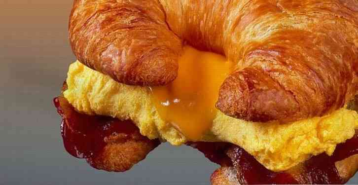 Croissant Breakfast Sandwich (Minimum of 10)