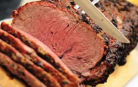 Broiled Sirloin of Beef