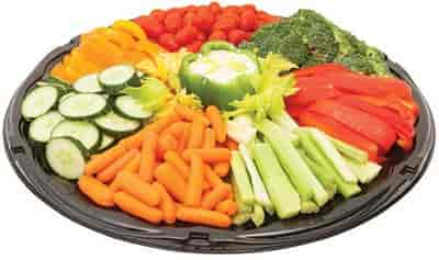 Assorted Fresh Crudités Tray