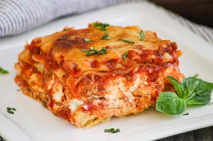 Sharko's Meat Lasagna