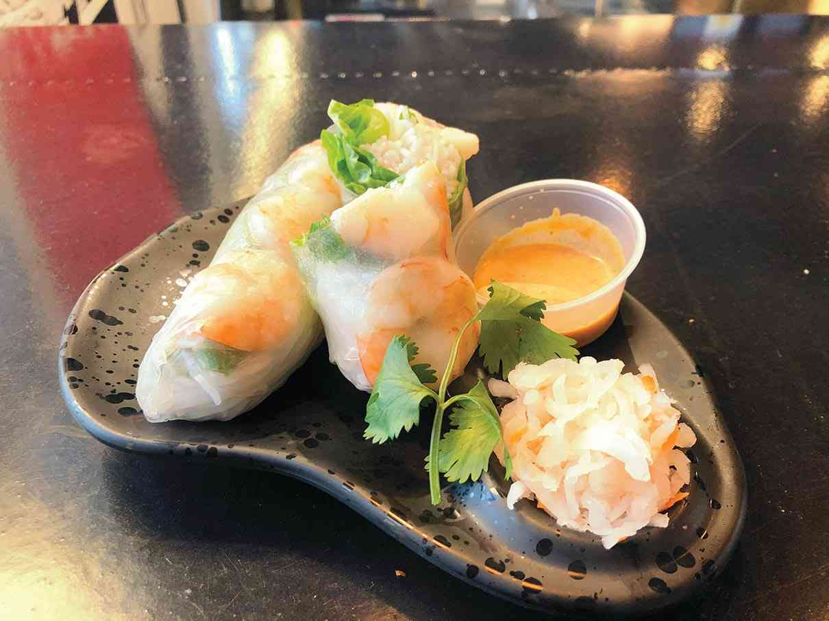 Fresh Shrimp Roll