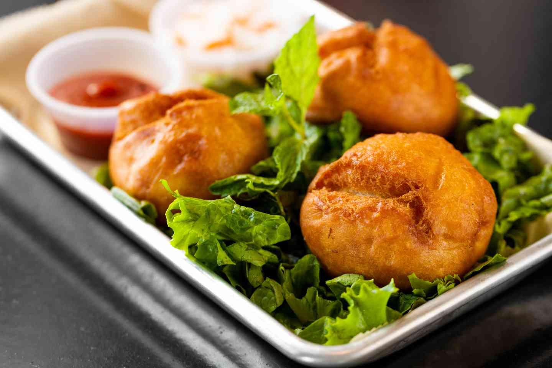 Crispy Veggie Bao