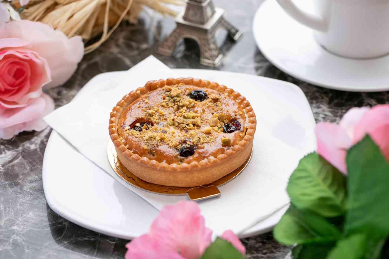 Pistachio Almond Tart