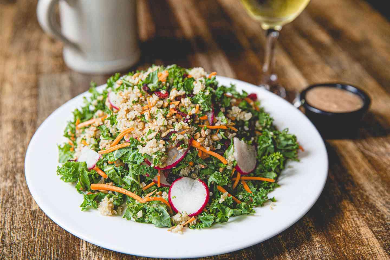 Quinoa and Kale Salad