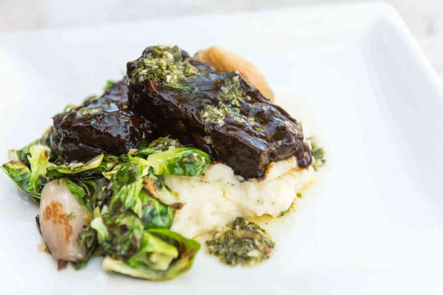 24 Hour Braised Beef Short Ribs