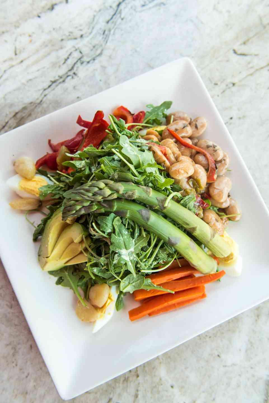 Farmers Vegetable Salad