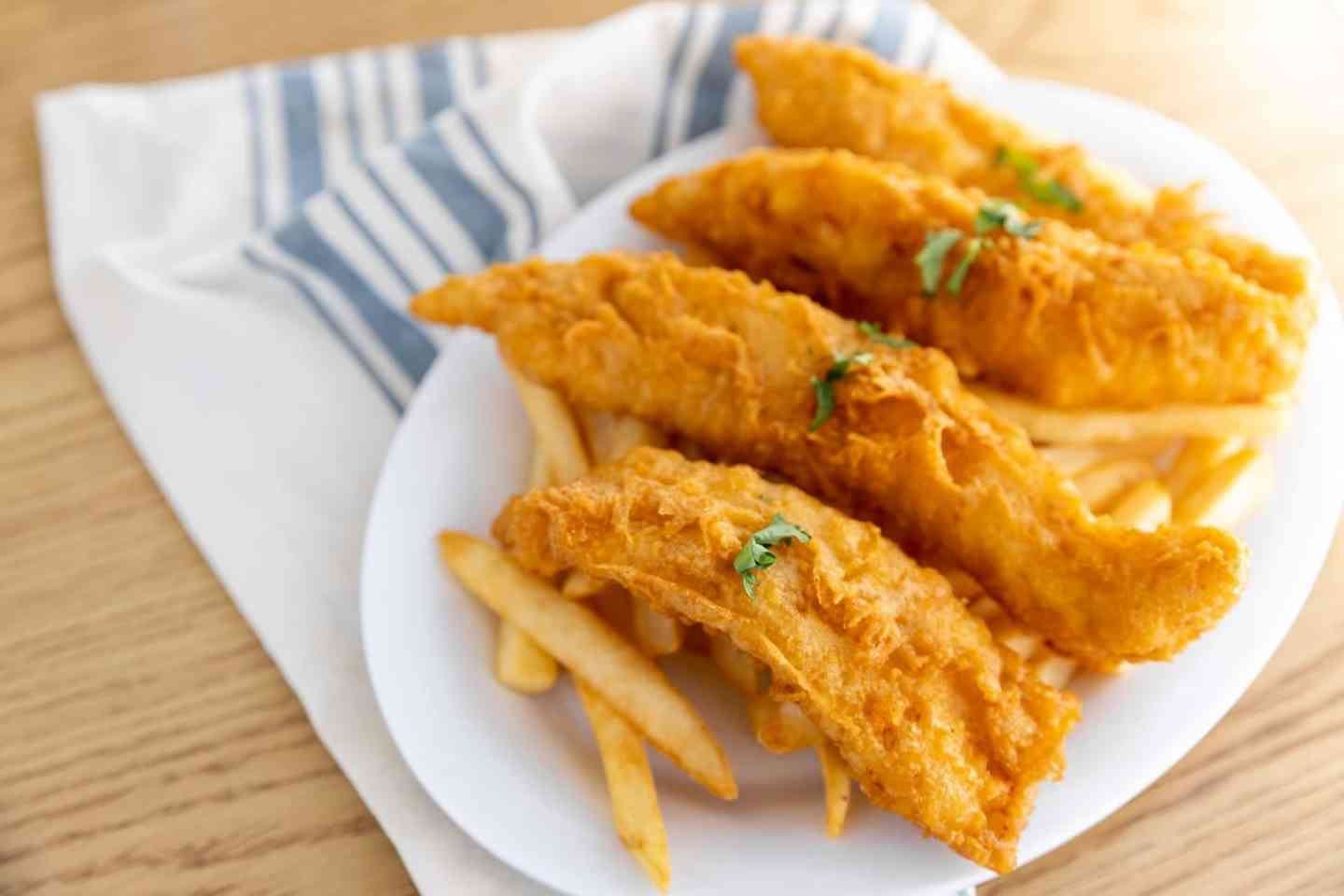 Famous White Cod & Chips