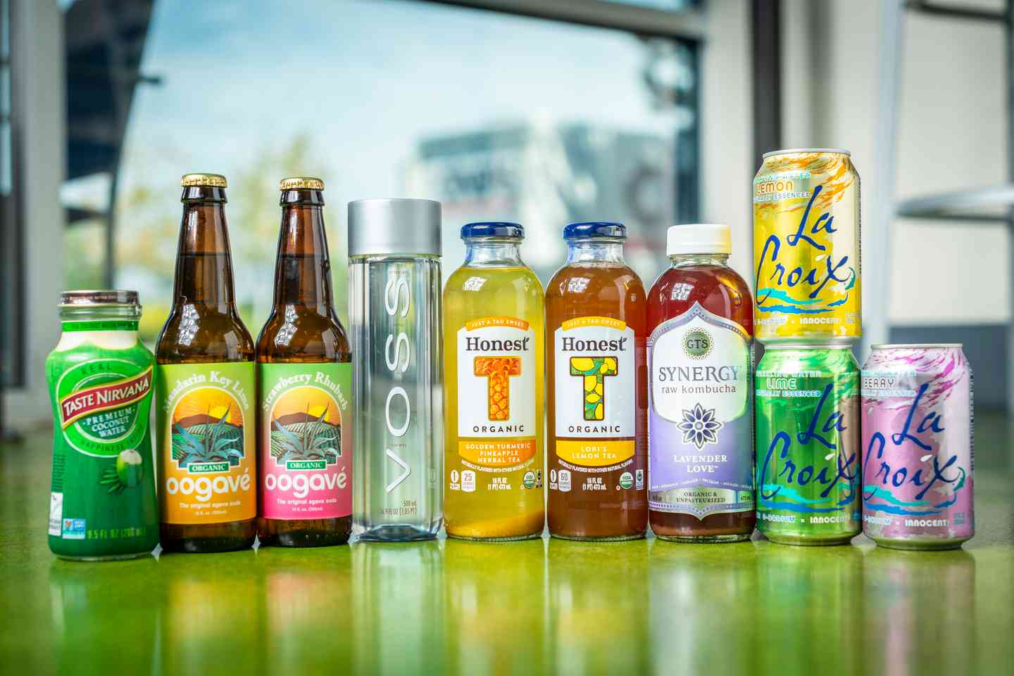 Selection of Bottled Beverages