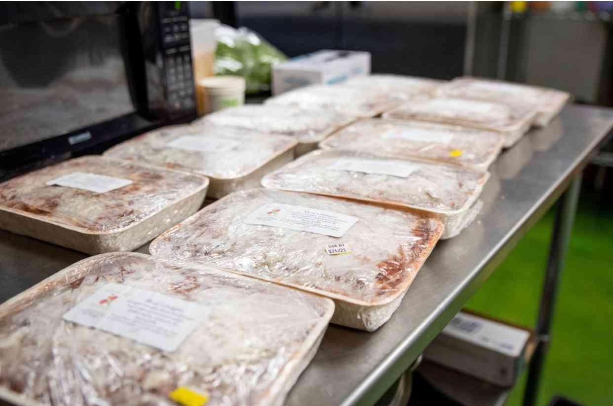 Frozen Meat Lasagna