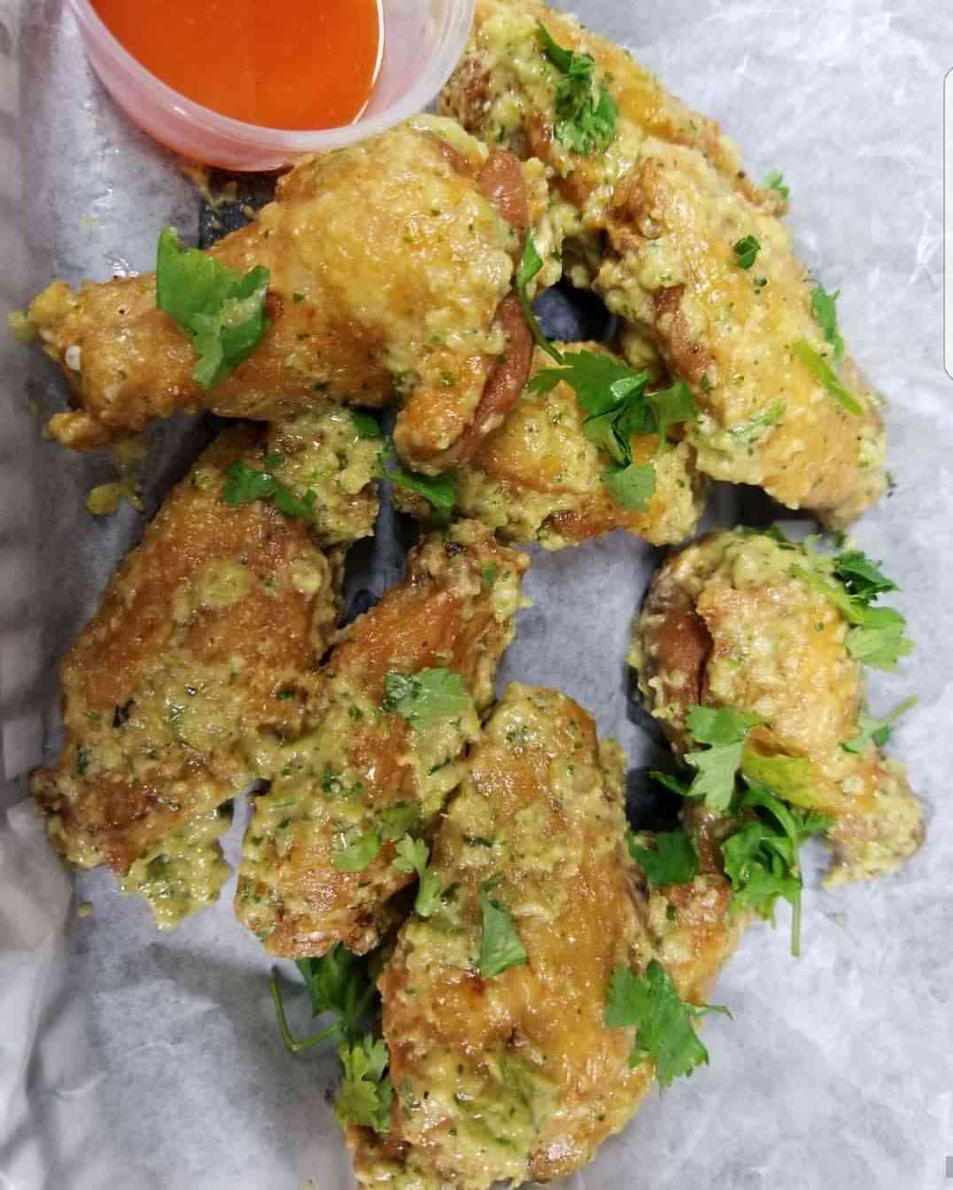 5 Wings & Fries