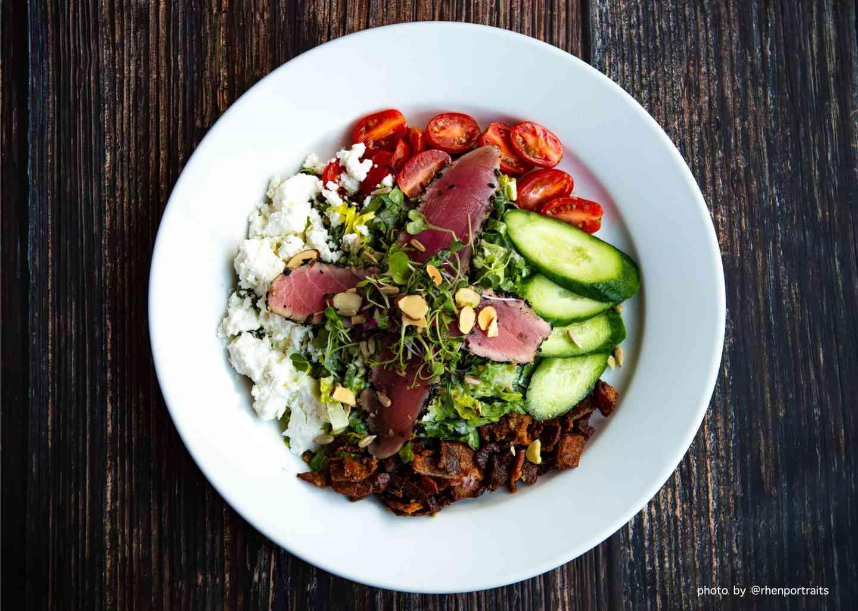 Chop Chop Salad (Seared Ahi optional)