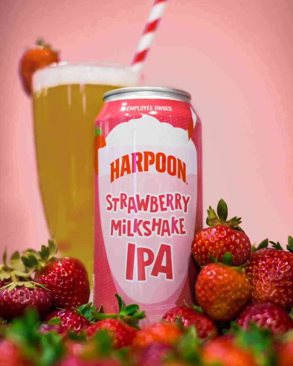 Harpoon Strawberry Milkshake IPA