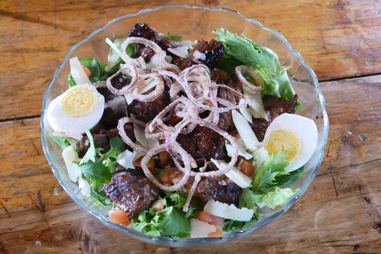 Steak Tip Salad
