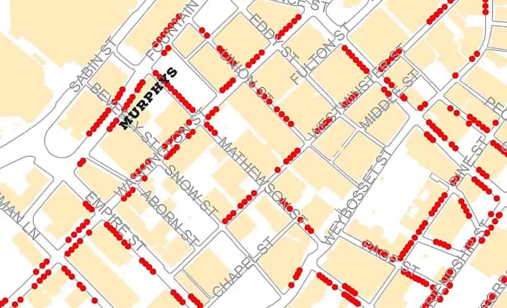 meter map