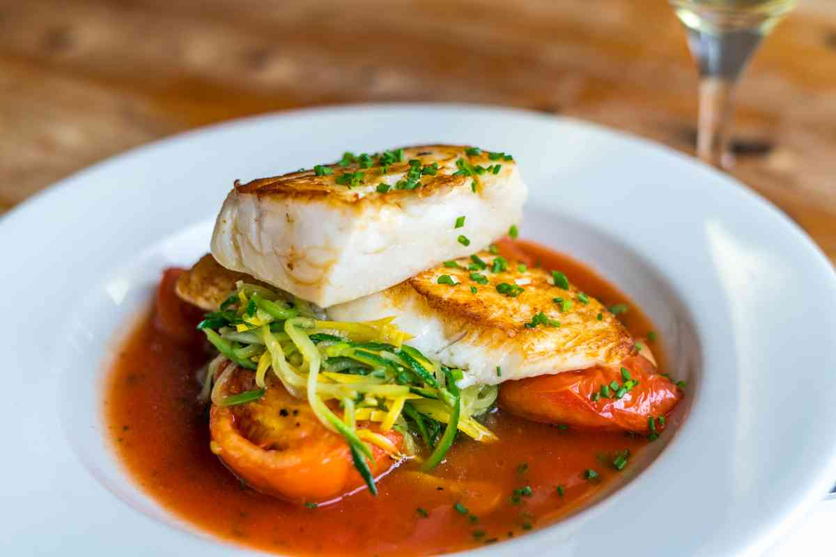 Roasted Local Cod