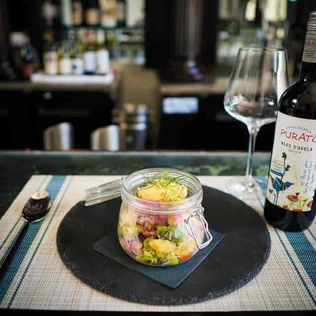 Ceci Lukewarm Salad in the Jar