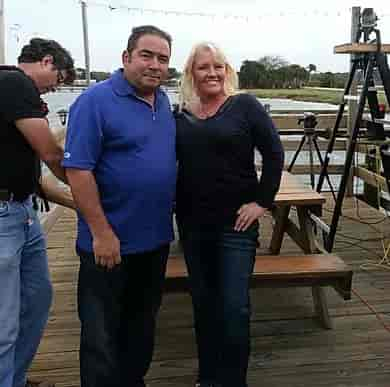 Chef Emeril Lagasse visits Goodrich Seafood Restaurant & Oyster House