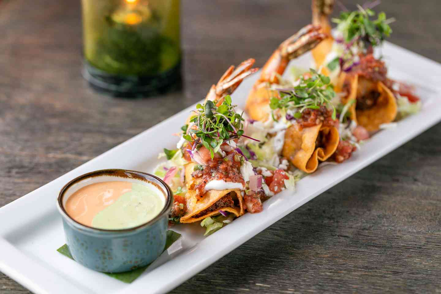 Shrimp Taquitos
