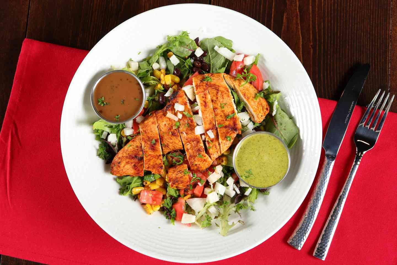 Pollo Asado Salad