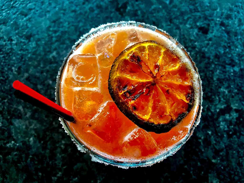 Patrón Blood Orange Margarita To Go