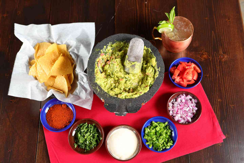 Fresh-made Guacamole