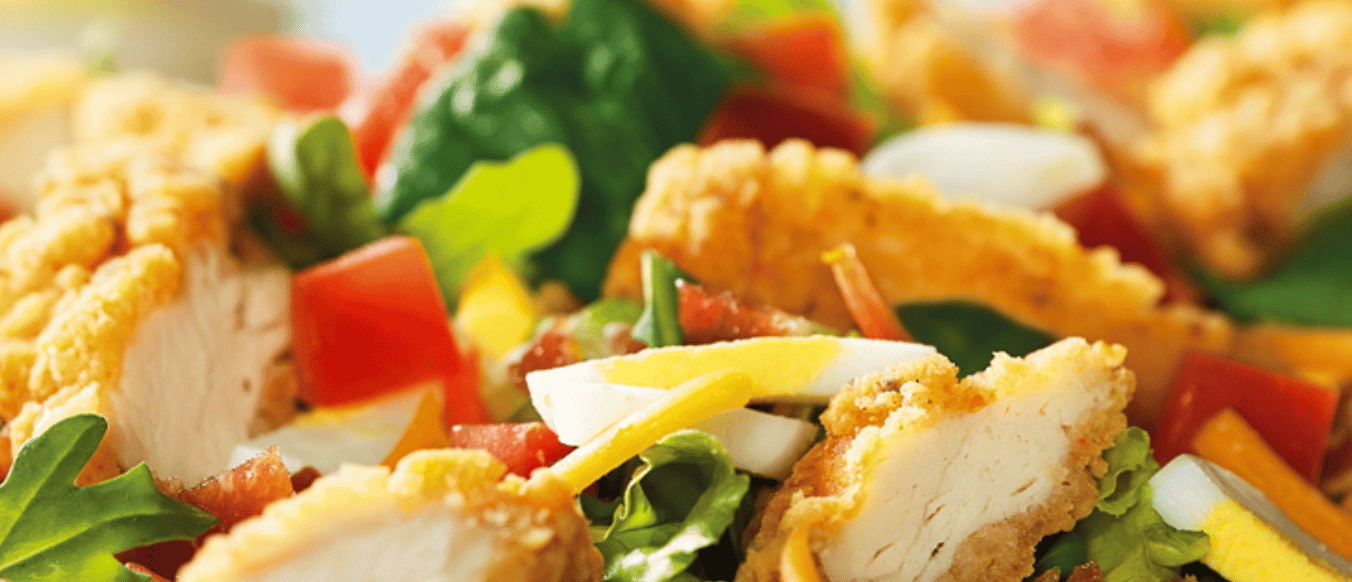 The Southern Spicy Chicken Tender Salad