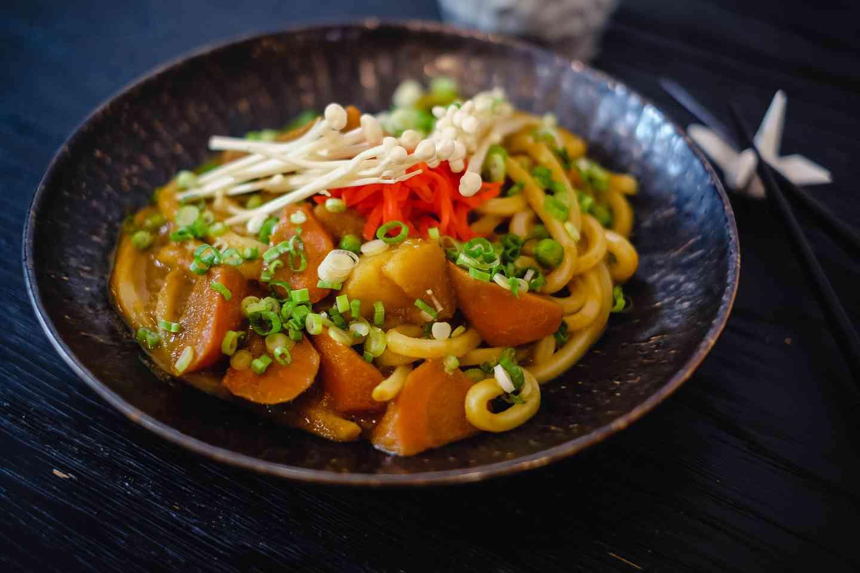 Veggies Curry Udon