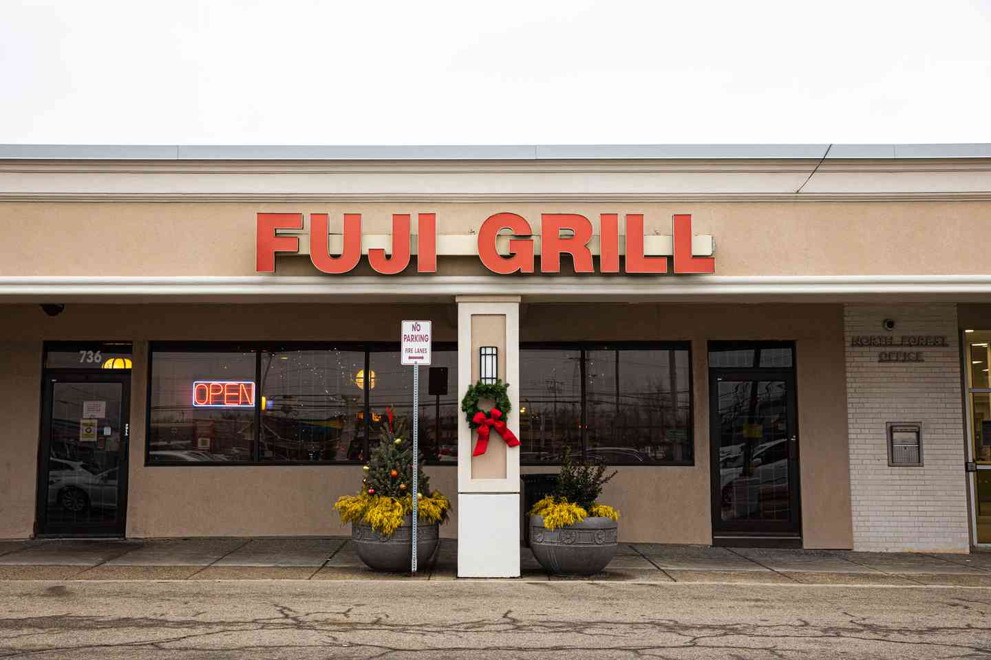Exterior of Fuji Grill on Maple Rd