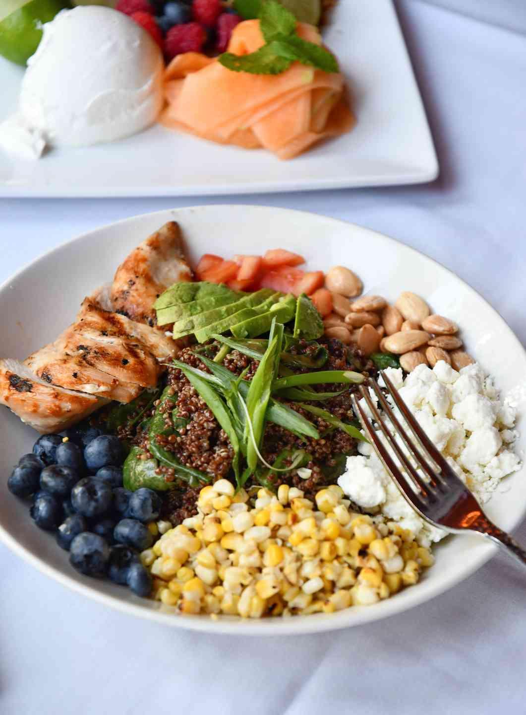 Grilled Chicken & Quinoa Salad