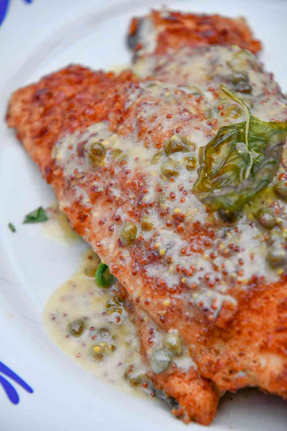 Pretzel Crusted Trout