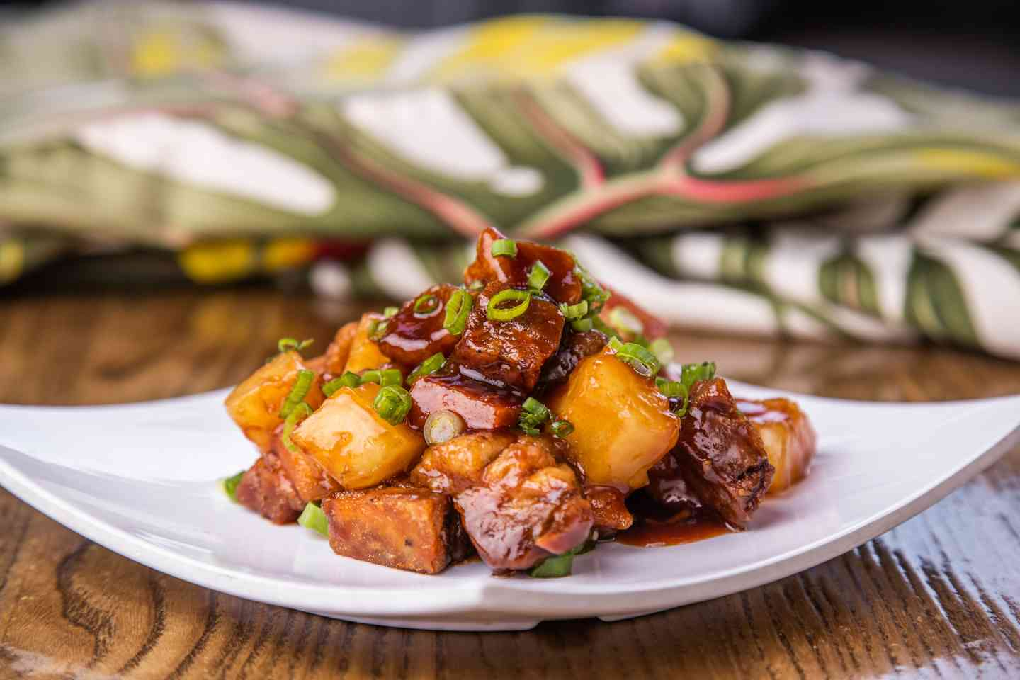 Pork Belly & Pineapple Bites