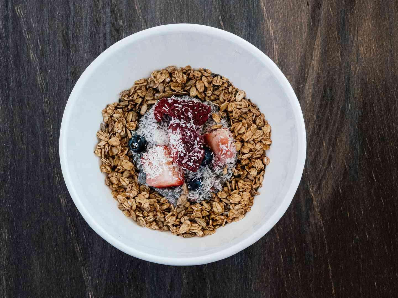 Berries & Chia Pudding Parfait
