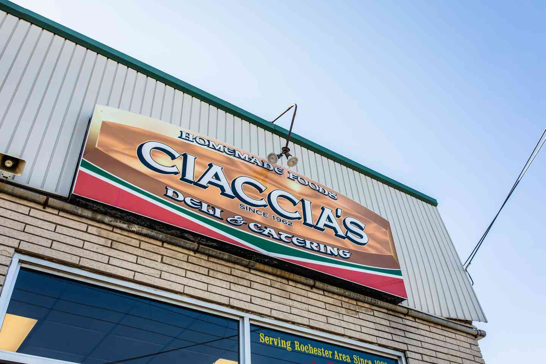 Ciaccia's Exterior store front