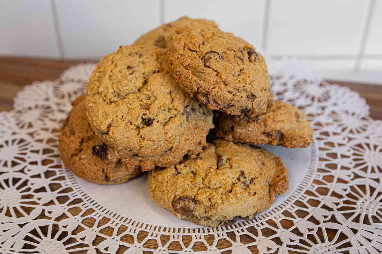 Vegan, Gluten Free Chocolate Chip Cookie