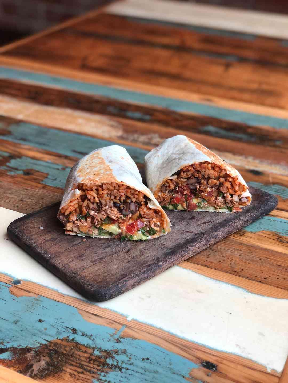 Chicken Tinga Burrito