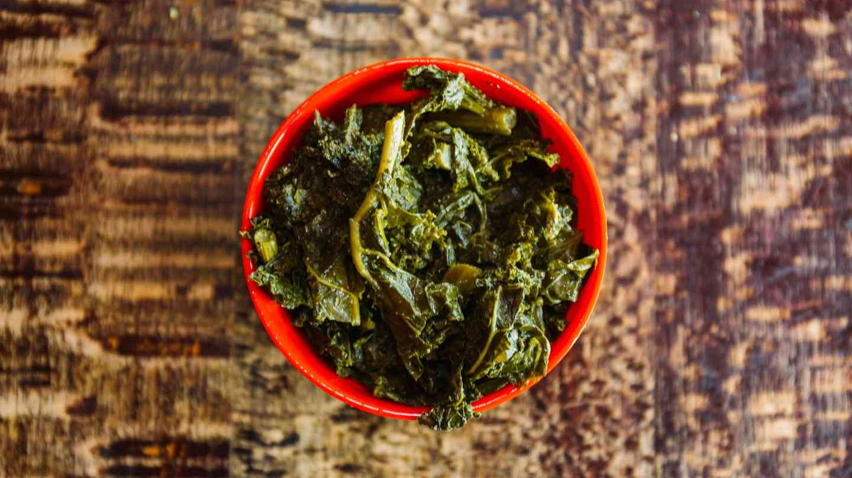 Smoked Kale